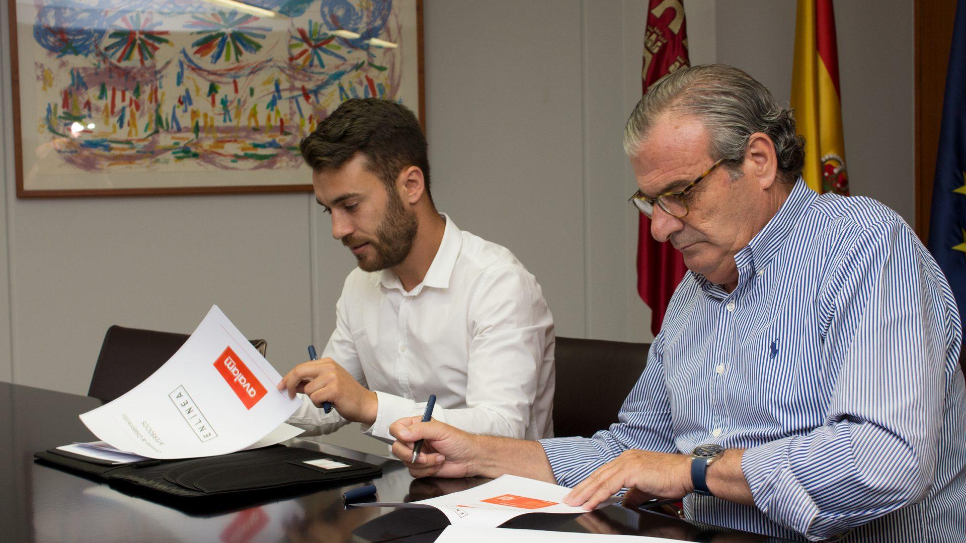 ENLÍNEA suscribe un acuerdo de colaboración con AVALAM