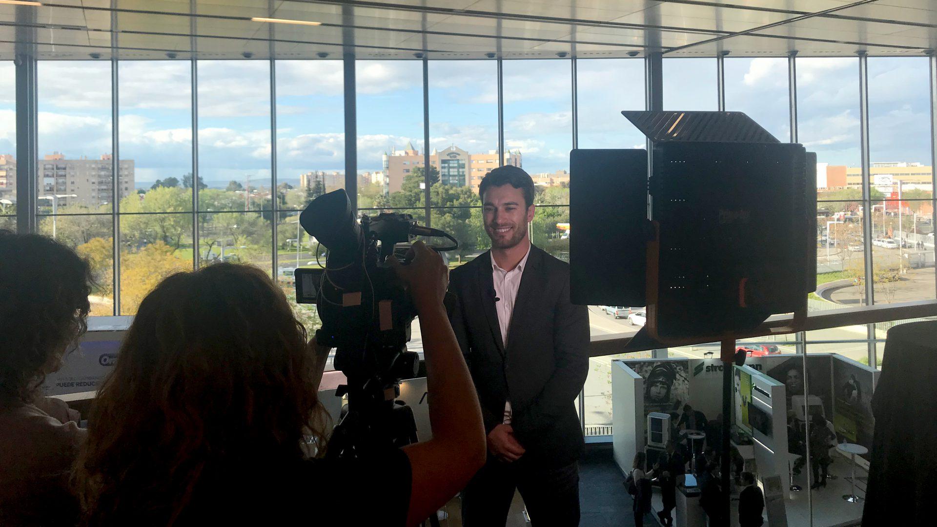 Canal Sur entrevista a Abel Marín en el congreso SEPA