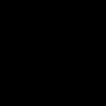 Icono de bicicleta y árbol