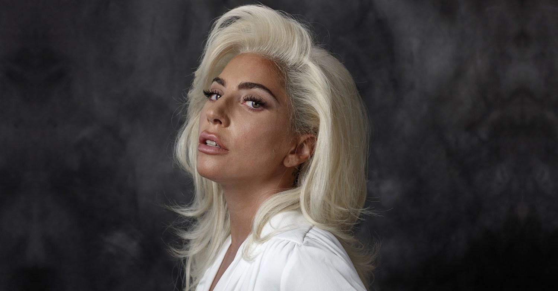 La cantante y actriz Lady Gaga