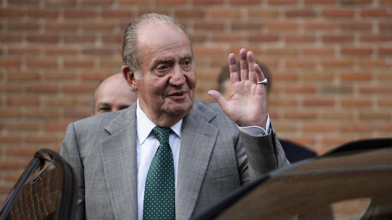 Rey emérito Juan Carlos I