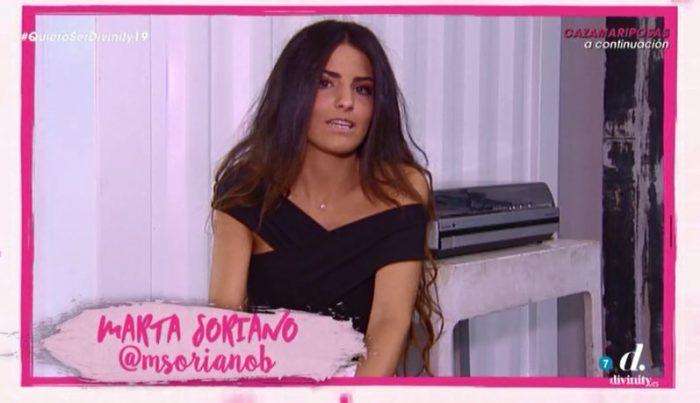 La influencer Marta Soriano antes de cambiar su sonrisa