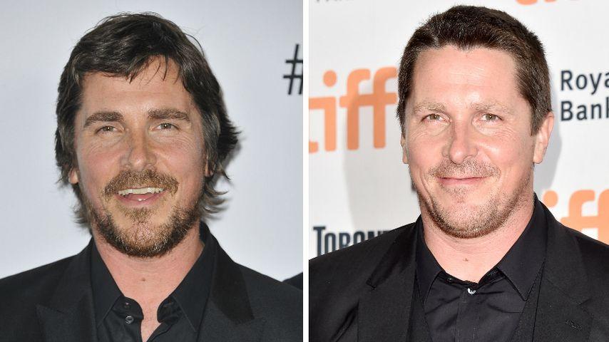 El actor Christian Bale antes y después