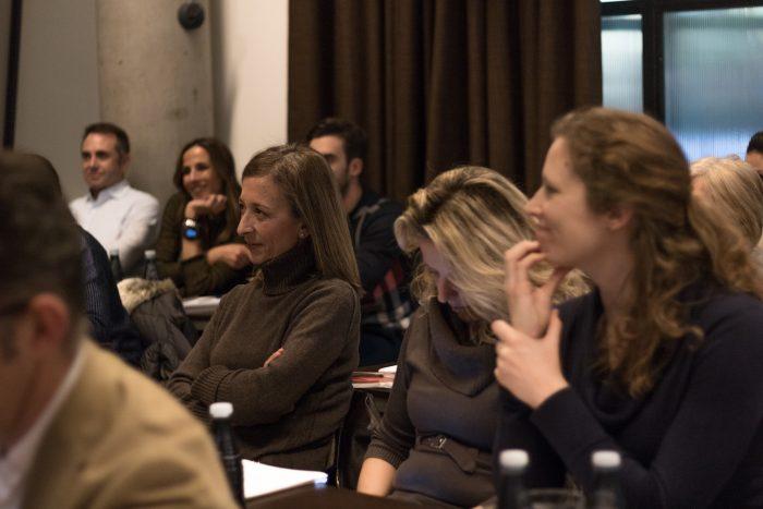 Algunos de los asistentes a la MasterClass de Ana Pardo
