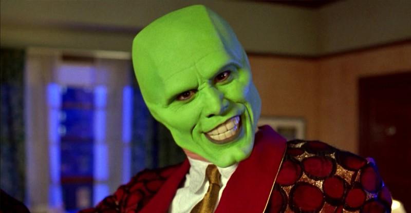 jim carrey en la máscara