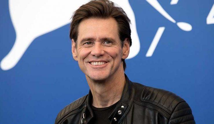 Jim Carrey Sonriendo