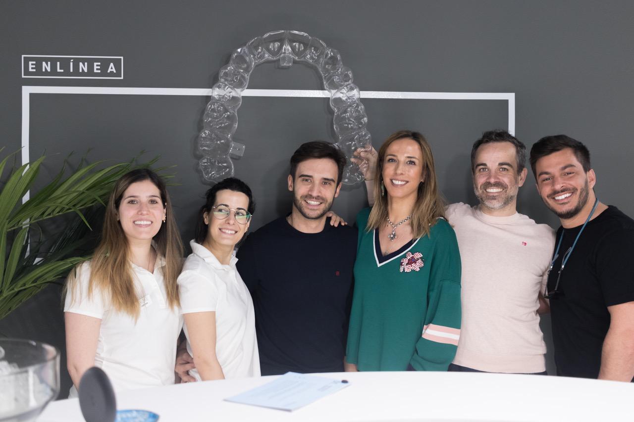 El equipo ENLÍNEA Murcia recibe a los directores de International Dental Academy