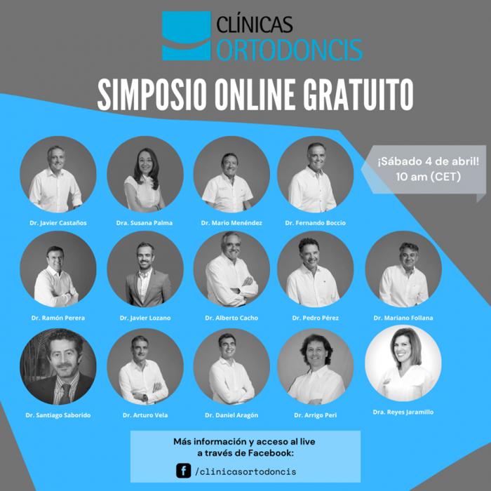 Más de 2000 asistentes en el primer simposio online Ortodoncis