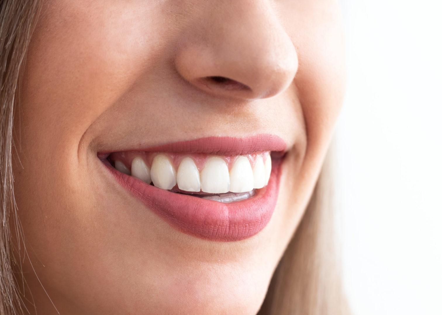 Plano detalle de una sonrisa