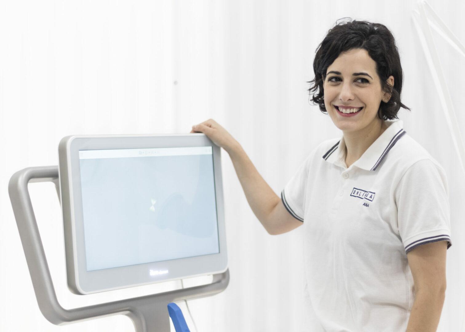 Ana Pérez en el gabinete